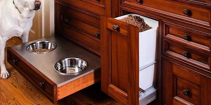 custom dog food organizer