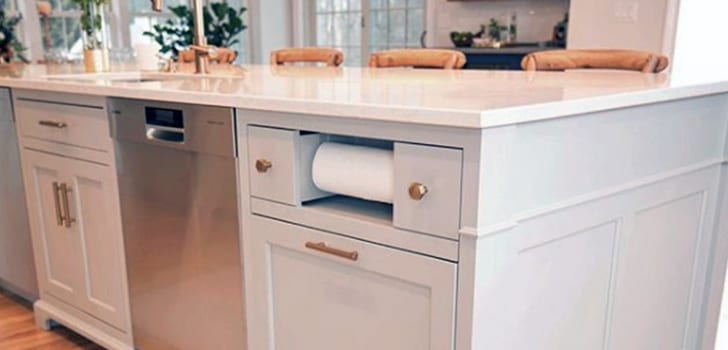 custom cabinetry in kitchen